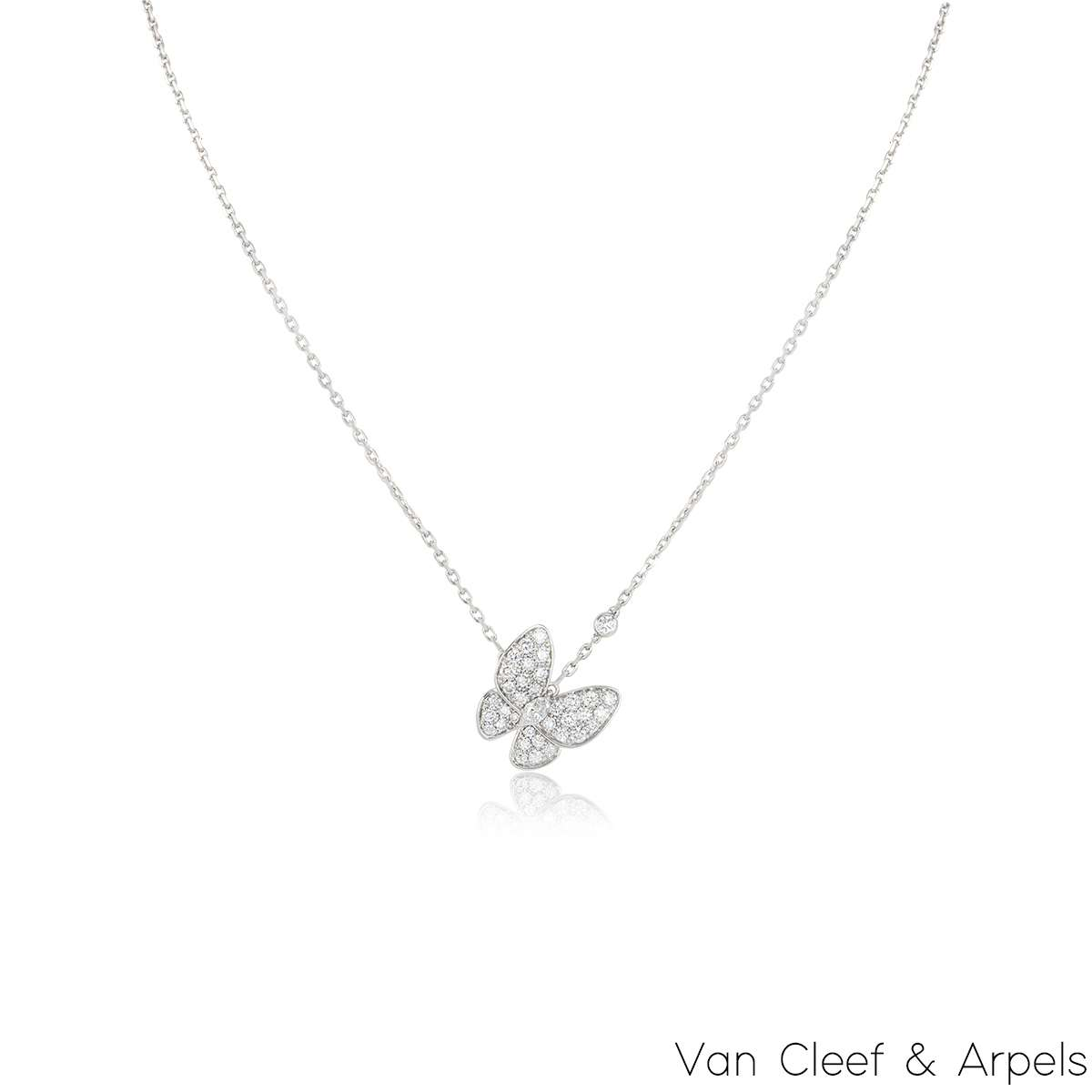 Van Cleef & Arpels Diamond Fauna Pendant VCARO3M400